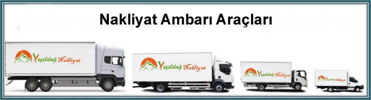 İstanbul nakliyat ambarı, İstanbul ambar araçları, İstanbul nakliye ambar aracı, kamyon ambar araç